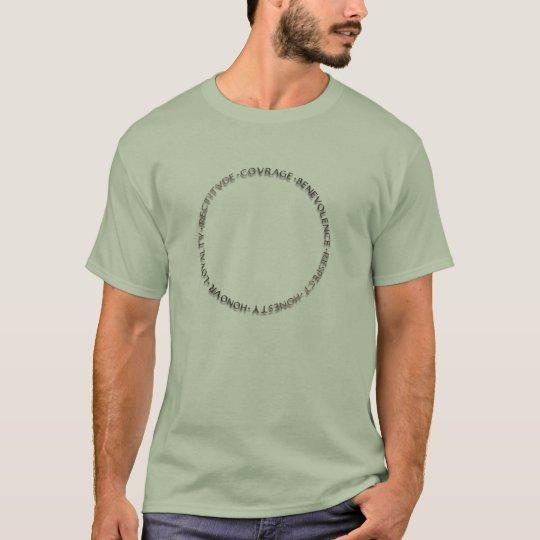 Bushido Virtues T-Shirt