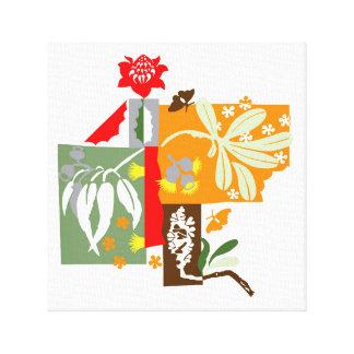 Bushland flora - Canvas Print