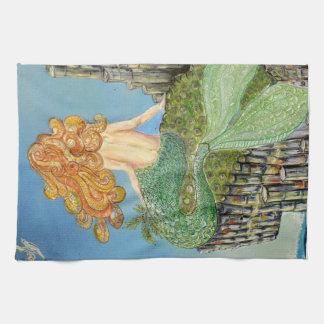 Bushmill's Mermaid Tea Towel