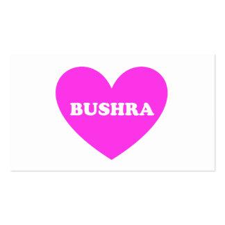 Bushra Business Card