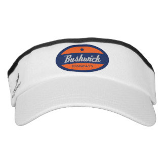 Bushwick Brooklyn New York Visor Hat