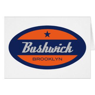 Bushwick Greeting Card