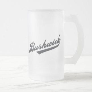 Bushwick Frosted Glass Mug