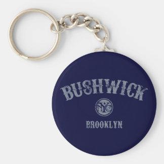 Bushwick Keychains