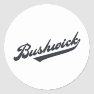 Bushwick Round Sticker