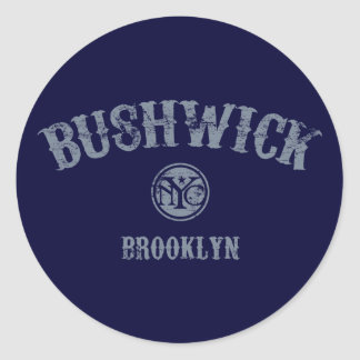 Bushwick Round Sticker
