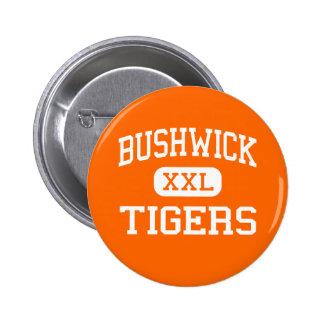 Bushwick - Tigers - High - Brooklyn New York Pins
