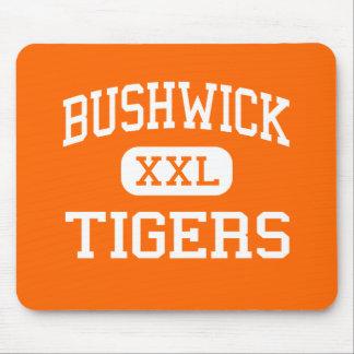 Bushwick - Tigers - High - Brooklyn New York Mouse Mat