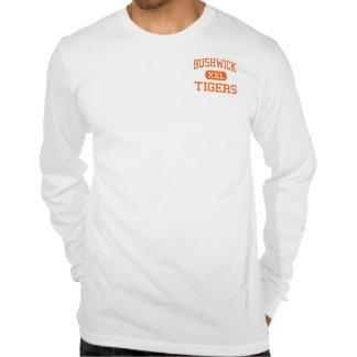 Bushwick - Tigers - High - Brooklyn New York T-shirt