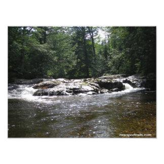 Bushy Creek Falls Photograph