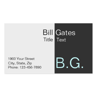 Busines card for techies pack of standard business cards