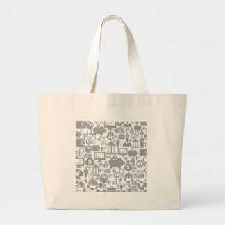 Business a background7 jumbo tote bag