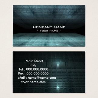 business abstract city business card