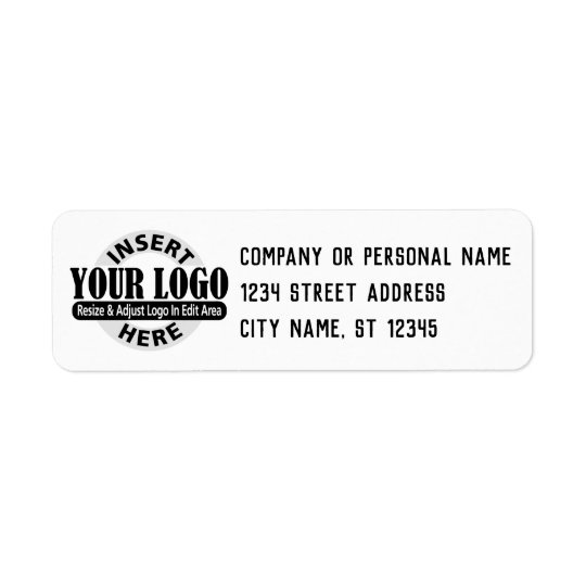 Business Address Labels - Mightype Sans Serif