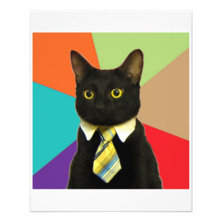 Business Car Advice Animal Meme 11.5 Cm X 14 Cm Flyer
