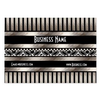 Business Card Art Deco Black Sepia Business Card Template