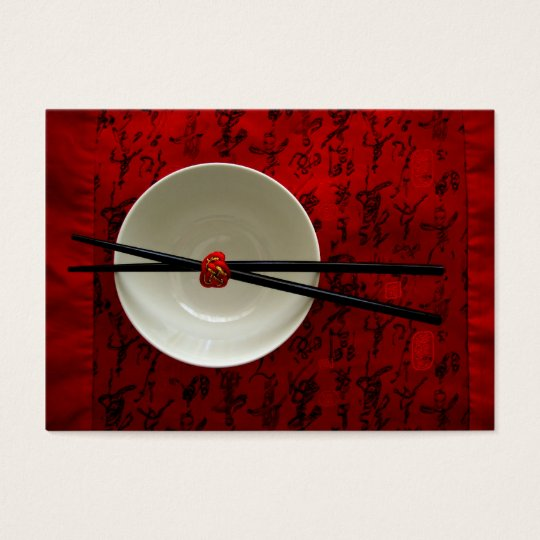 Business Card - Asian Restaurant