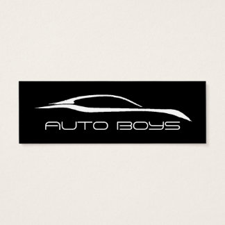 Business Card - Auto Silhouette