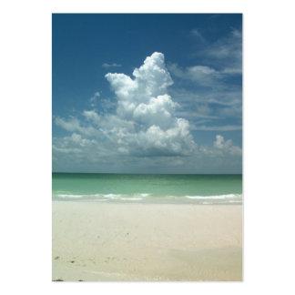 """business card beach scene"""