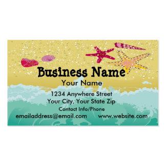 Business Card Beach Scene