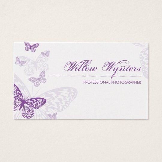 BUSINESS CARD :: butterflies 3L