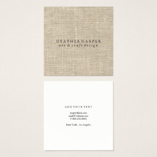 Business Card - Canvas