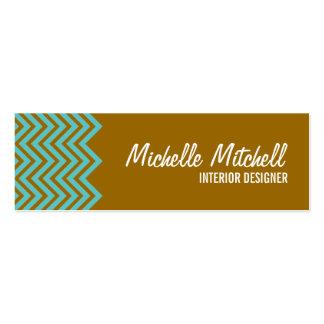 Business Card Chevron brblu