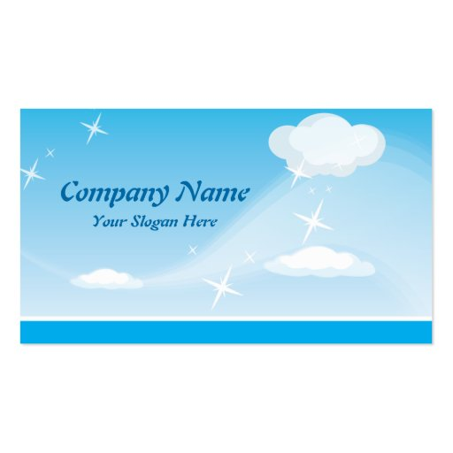 Business card Clouds