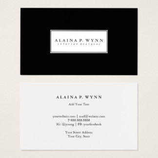 Business Card - Colored Duo
