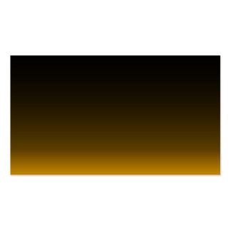 Business Card/Create Your Own Gold and Black Pack Of Standard Business Cards
