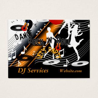 Business Card DJ Disc Jockey Dance Music Party
