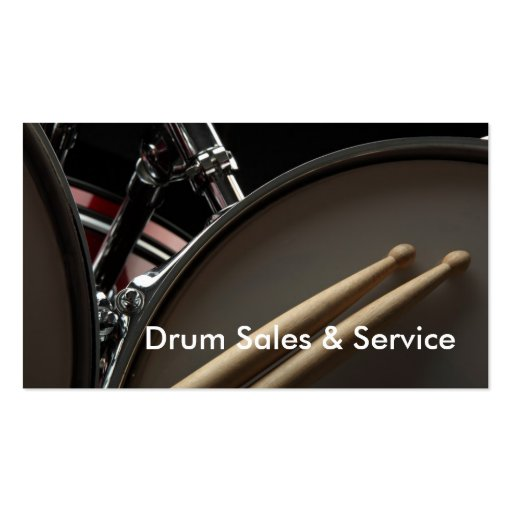 Business Card Drum Sales Service