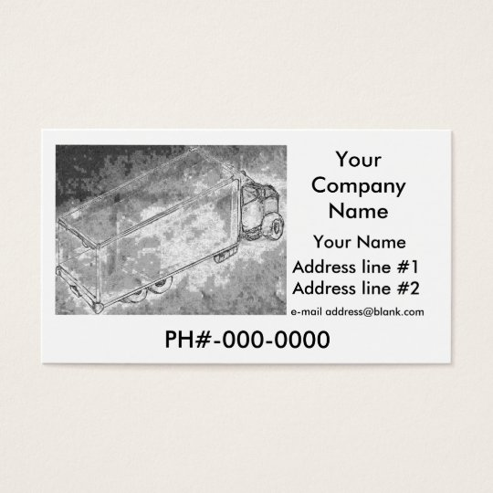 "Business Card ""Dry Van"""