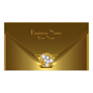 Business Card Elegant Wild Gold Black Purse