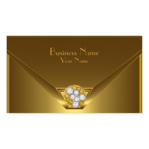 Business Card Elegant Wild Gold Black Purse Business Card Template