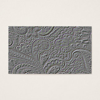 Business Card Embossed