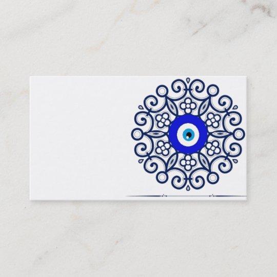 Business Card-evil-eye Business Card