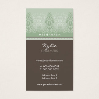 BUSINESS CARD feminine detailed