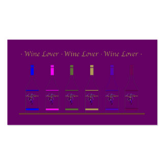 BUSINESS CARD_FOOD DRINK_ALCOHOLIC BEVERAGES Double-Sided STANDARD BUSINESS CARDS (Pack OF 100)
