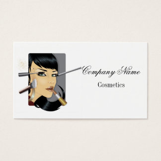 Business card for cosmetics industry