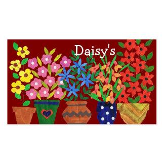 Business Card for Florist - Flower Power