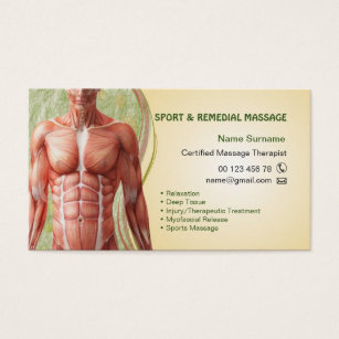 Massage therapy business cards business card printing zazzle uk business card for massage therapist colourmoves