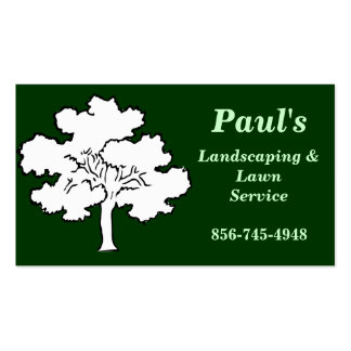 Business Card for Paul s Lawn Service