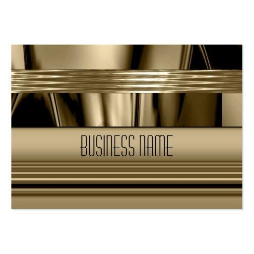 Business Card Gold Art Deco