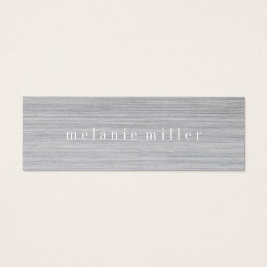 Business Card - Grey Grain