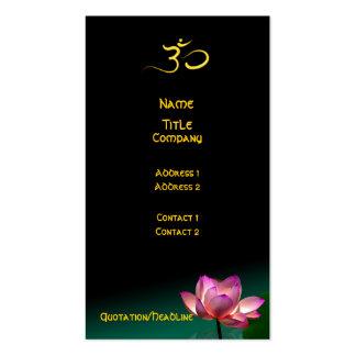 Business card, Healing Hands