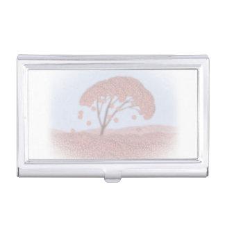 business card holder sakura tree