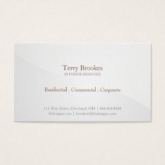 Business Card | Horizon |greysilver