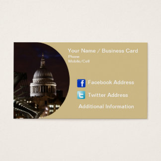 Business Card - London