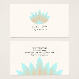 Business Card - Lotus Pastel